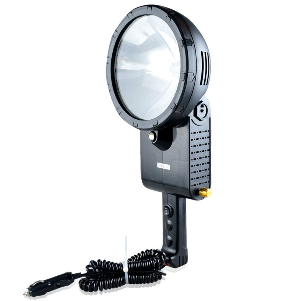 CYHY Nascosto Xenon proiettore Portatile Faro da Lavoro Luce Spotlight, Adatto per Auto Fuoristrada Guida all'aperto Pesca Luce Caccia Campeggio pattuglia Luce Faro di Ricerca, 12V (7 Modelli)