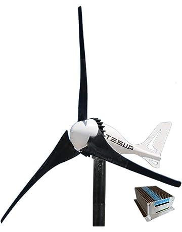 fc21466facc TESUP Turbina de viento 12V i-500 + controlador de carga híbrido de 650  vatios