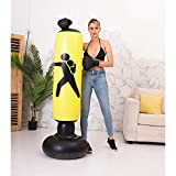BOOMGROO Inflatable Punching Bag with Stand