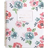 "at-A-Glance Academic Weekly/Monthly Planner, July 2018 - June 2019, 8-1/2"" x 11"", Floral, Badge (1124F-905A)"