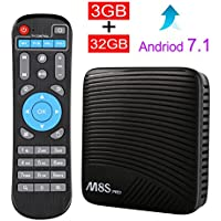 Android 7.1 3GB DDR4 & 32GB Flash TV BOX, Edal M8S PRO MECOOL Android 7.1 TV box 3GB DDR4 & 32GB Flash Amlogic S912 64 bit Octa core ARM Cortex-A53 CPU up to 2 GHz Smart TV box
