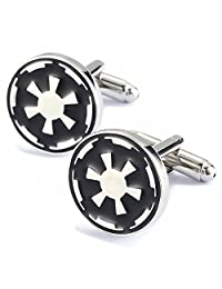 Fashion New Star Wars Cufflinks,Mens French Cufflinks with Gift Box