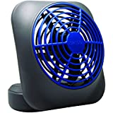 O2COOL 5-Inch Portable Volcano Fan, Blue