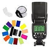 Godox TT685S GN60 HSS 1/8000s TTL 2.4G Wireless LCD Panel Slave/Master Camera Speedlite for Sony DSLR Camera TTL Autoflash for Sony A77II, A7RII,A7R,A58,A99, ILCE6000L