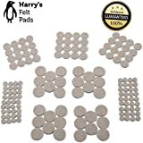 Felt Furniture Pads (152 Piece) Self-Stick Value Variety Pack, Heavy Duty, Eco-Friendly, Oatmeal (Oatmeal)