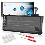 """CSEXCEL New Laptop Replacement Battery for Apple MacBook Pro 13"""" A1322 A1278 (Mid 2009, Mid 2010, Early and Late 2011, Mid 2012 Version) Grade A Cell,10.95V 6000mah/65.5wh"""