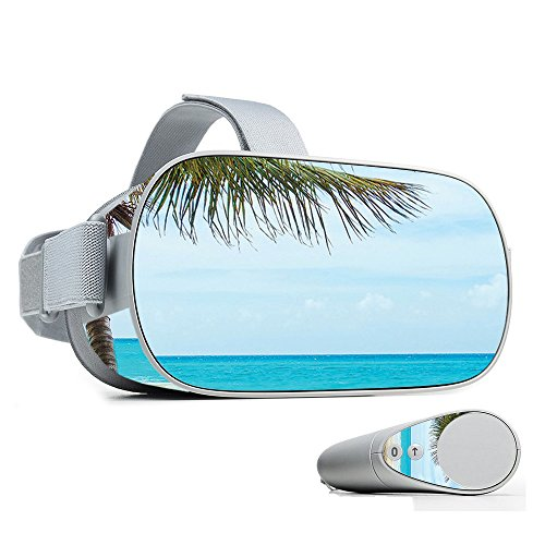MightySkins Skin for Oculus Go Mobile VR - Beach Bum | Protective, Durable, and Unique Vinyl Decal wrap Cover | Easy to Apply, Remove, and Change Styles | Made in The USA