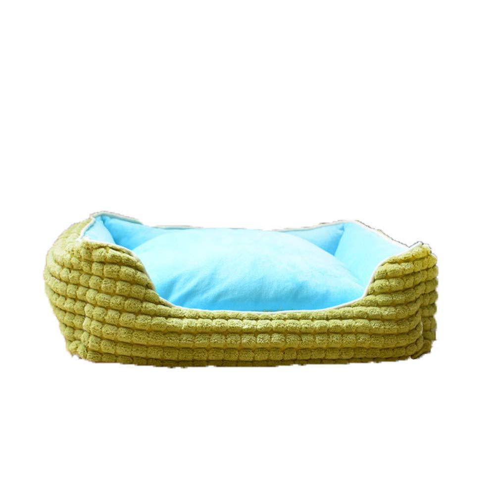 Large JFRI dog bed Open pet nest creative square cat litter removable corn kernels open nest winter warm