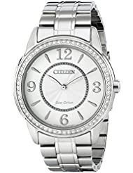 Citizen Womens FE7000-58A Drive from Citizen Eco-Drive TTG Analog Display Silver Watch