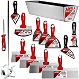 Deluxe Drywall Hand Tool Set, Stainless Steel