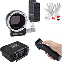 Aputure DEC Vari-ND Wireless Lens Adapter with 8 Stops of Variable ND for Canon EOS EF Mount Lens to Sony E-Mount Cameras Wireless Follow-Focus and Aperture Control Start/Stop Recording Wirelessly