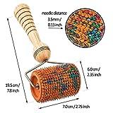 LYAPKO Universal Roller 3.5 AG 496 Needles. Premium Active Applicator Acupressure Massager Unique Patented Self Massage Therapy