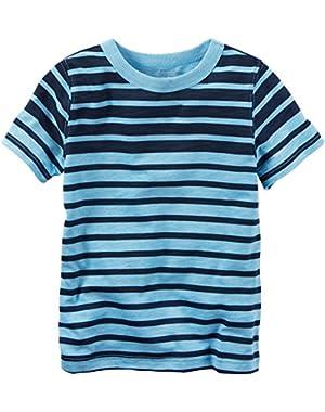 Carters Baby Boys Stripe Crew T-Shirt
