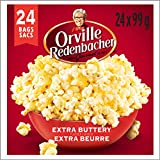 Orville Redenbacher Popcorn - Microwave Extra Buttery (24 Pack with 24 bags total)