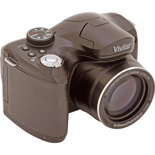 Vivitar ViviCam S1527 16.1MP Digital Bridge Camera with 18x Optical Zoom