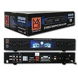 Mr. Dj DEQ500 Dual Band Stereo Graphic Equalizer