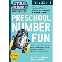 Star Wars Workbook: Preschool Number Fun by Workman Publishing (2014-06-17)