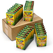Crayola Bulk Crayons, 24 Packs of 24 ct., Classpack