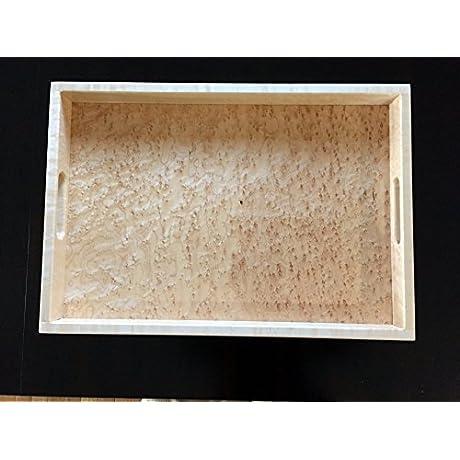 Wood Serving Tray Birdseye Maple