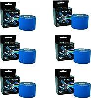 Skinetex Professional Grade Kinesiology Tape - Box of 6 Rolls
