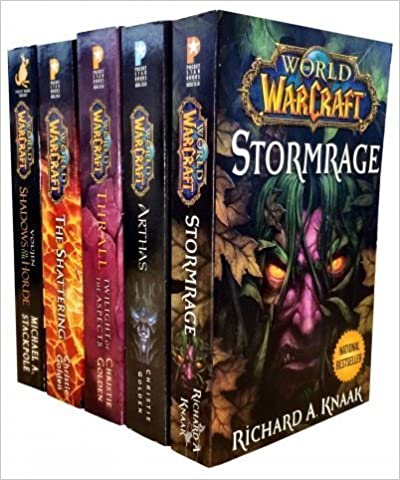 24. World Of Warcraft - 5 Book Collection Set by Christie Golden