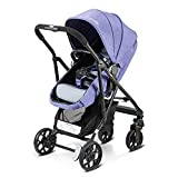 Infant Baby Stroller for Newborn and Toddler - Convertible Bassinet Stroller Compact Single Baby Carriage Toddler Baby Stroller Can Sit Light and Recline High Landscape