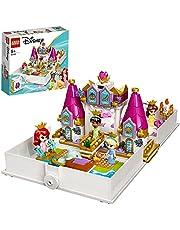LEGO 43193 Disney-Prinses Ariël, Belle, Assepoester En Tiania's Verhalenboekavonturen, Speelgoed Met 4 Micro Poppetjes