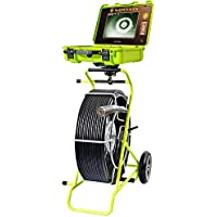 Opticam Modular Pipe Sewer Snake Drain Inspection Push Camera w/ Self Leveling Head