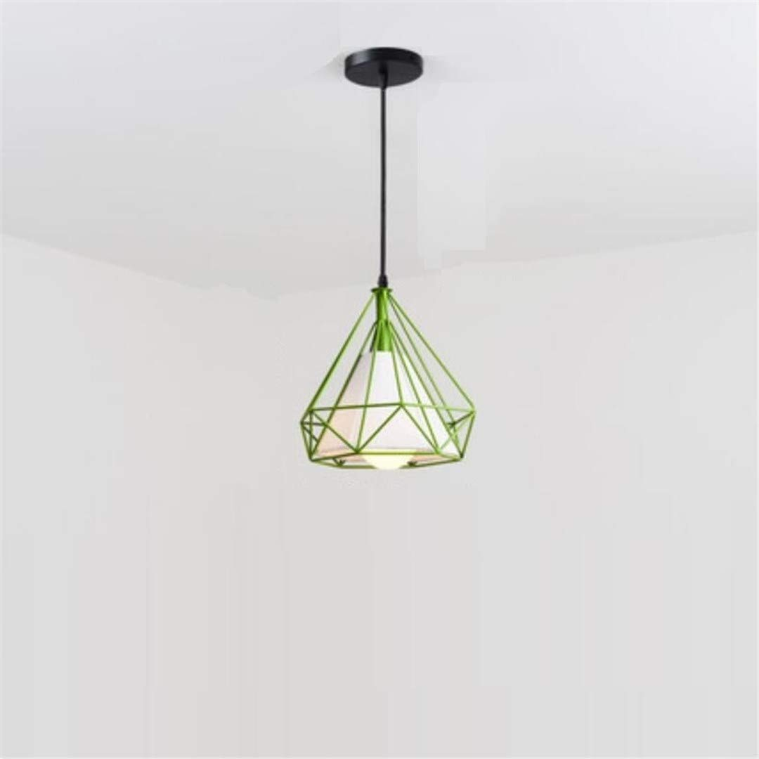QiXian Ceiling Light Ceiling Lamps Led Modern Contemporary Creative Strange Personality Single Head Geometric Lamp Cafe Bar Aisle Balcony Lights Nordic Style Simple Restaurant Chandelier