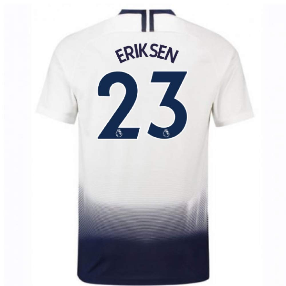 2018-2019 Tottenham Vapor Match Home Nike Football Soccer T-Shirt Trikot (Christian Eriksen 23)