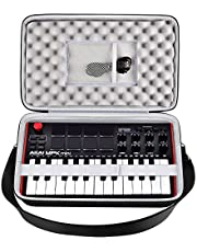 $21 » Case Compatible with AKAI Professional MPK Mini MK3 MKII Mini Play 25-Key Ultra-Portable USB MIDI Drum Pad. Keyboard Controller Carrying Holder with Mesh Pocket, Band and Shoulder Strap (Box Only)