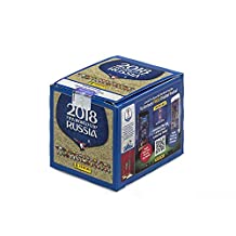 2018 FIFA SOCCER World Cup Russia Sticker Collection - 50 Pack Box