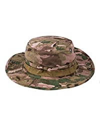 Moore Digital Camouflage Military Wide Brim Jungle Bucket Fishing Camping Boonie Hat