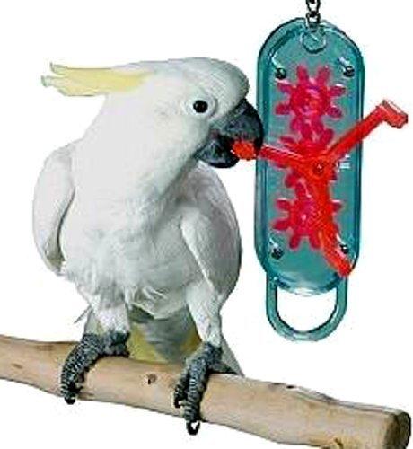 Lucky Bird Toys Gear Head 18in Length Large Bird Toy by Lucky Bird Toys