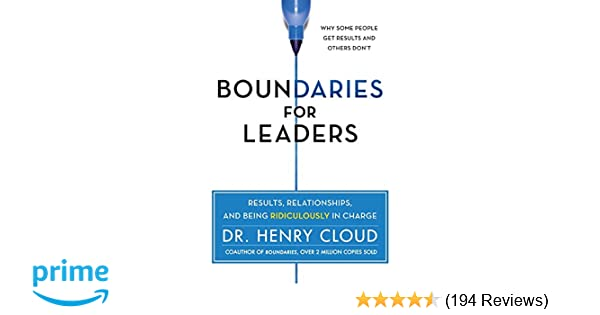 Boundaries For Leaders Pdf