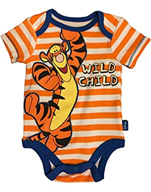 Baby Boy Creeper Bodysuit, Tigger