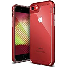 Caseology Skyfall Series iPhone 7 / 8 Cover Case with Clear Slim Protective for Apple iPhone 7 (2016) / iPhone 8 (2017) - Red