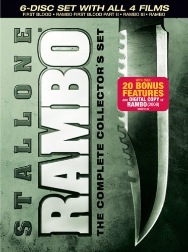 DVD : Rambo Complete Collectors Set (Gift Set, , Dolby, AC-3, Digital Copy)
