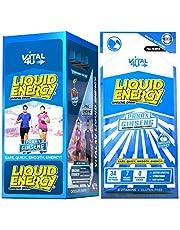 Vital 4U Liquid Energy - Ginseng Energy Shot, Chocolate Cherry Flavor, 24 Count by Vital 4U