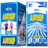 Vital 4U Liquid Energy - Ginseng Energy Shot, Chocolate Cherry Flavor, 24 Count by Vital 4U