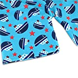 Boys Two Piece Rash Guard Swimsuits Kids Sunsuit