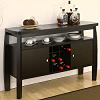 247SHOPATHOME Idi-11462 Sideboards, Espresso