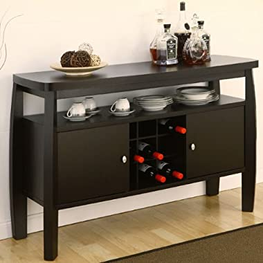 Brenton Dark Espresso Finish Buffet Table