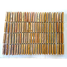 50 mango turning squares 5/8 x 5/8 x 5 great for pen blanks, dowels woodworking