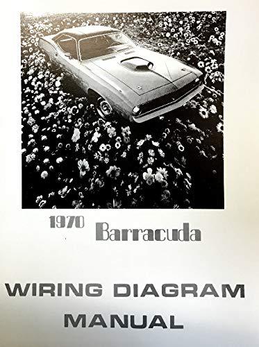 1970 PLYMOUTH BARRACUDA FACTORY ELECTRICAL WIRING DIAGRAMS & SCHEMATICS:  PLYMOUTH CHRYSLER: Amazon.com: BooksAmazon.com