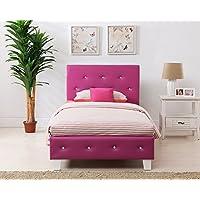 Boraam 95112 Kelsey Bed Set, Twin, Pink
