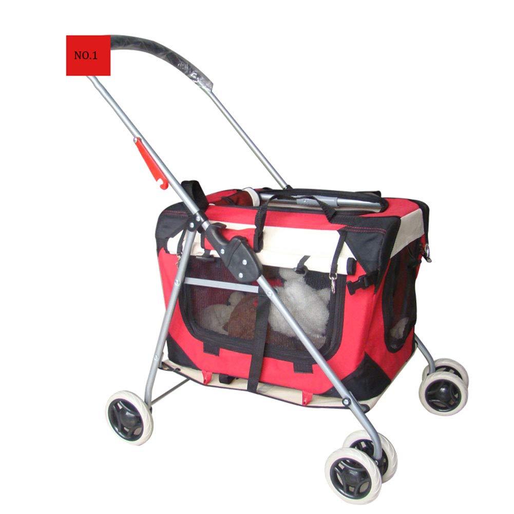 Kaysa-TS Pet Stroller, Foldable Split, Outdoor Car, Travel System