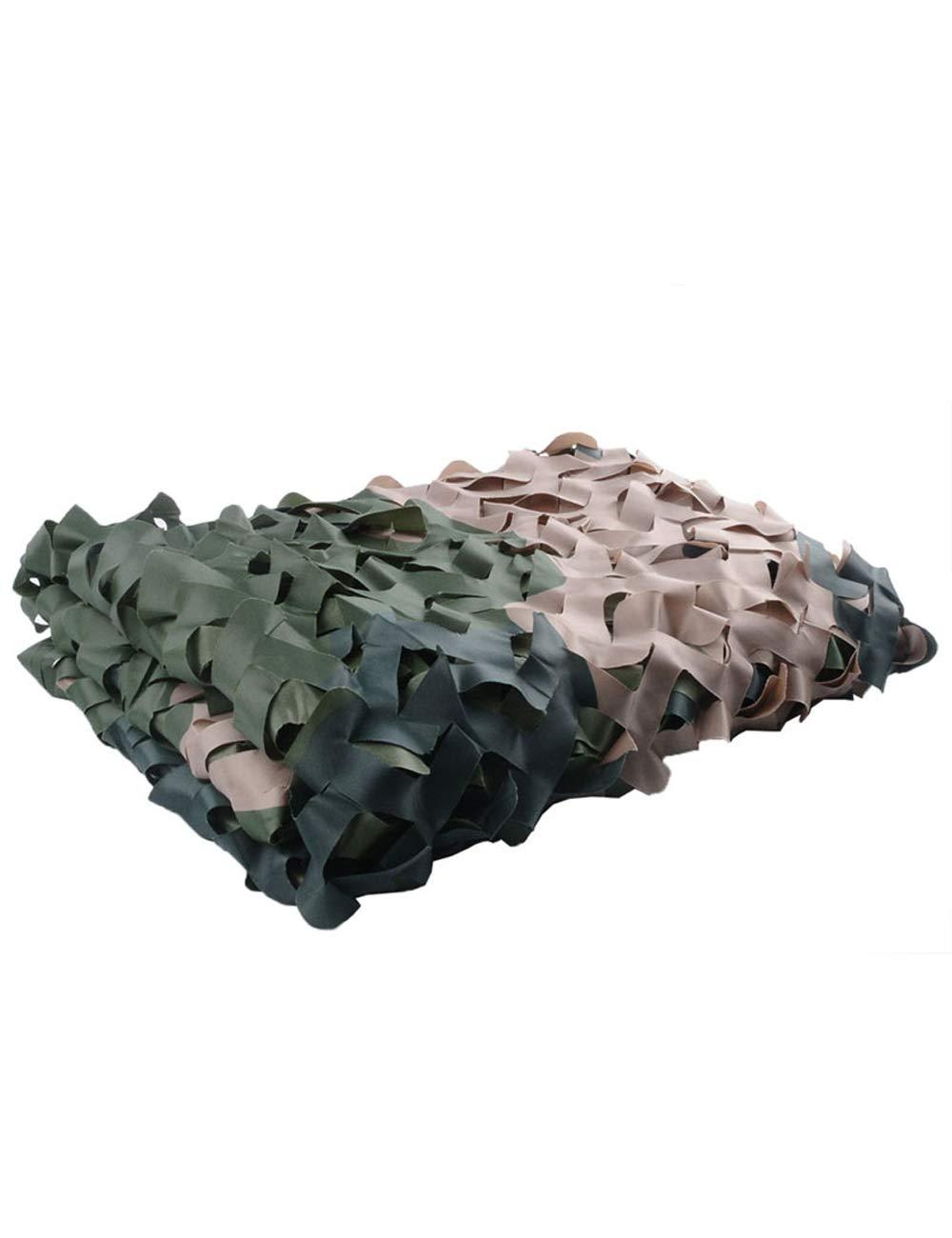 WKHQQ-Filet d'ombrage Filet de Camouflage camouflant, Filet de Camouflage Jungle Tente  55M