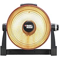 BLACK & DECKER 800-Watt Infrared Radiant Electric Portable Heater
