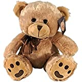 "KINREX Brown Bear Stuffed Animal - 11.81"" / 30 cm. - Teddy Bear Gifts for Women, Boyfriend, Wife, Husband And Babies - Plush Stuffed Animals"